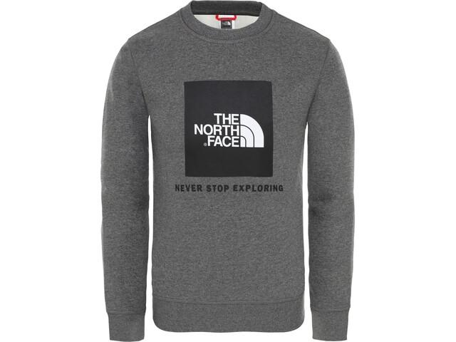 The North Face Box Rundhalsshirt Jungs tnf medium grey heather